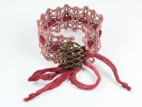 Frankfurt bead lace