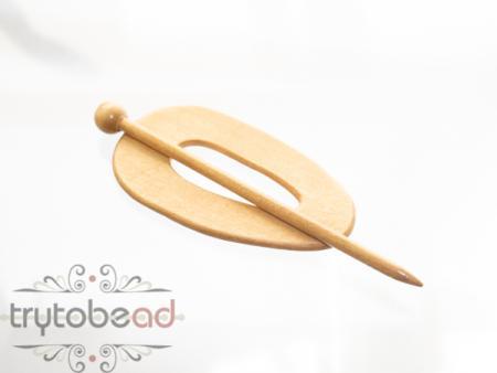 Schalnadel oval